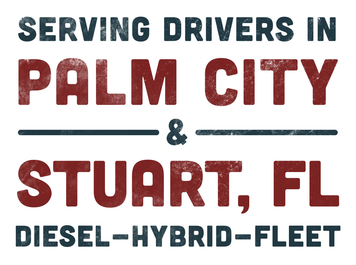 Serving Drivers in Palm City & Stuart, FL - Diesel - Hybrid - Fleet
