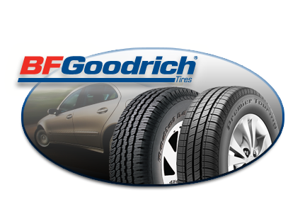 we install BFGOODRICH® tires